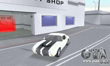 Pontiac Trans Am 1967-1969 für GTA San Andreas zurück linke Ansicht