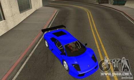 Lamborghini Murcielago R GT pour GTA San Andreas vue de côté