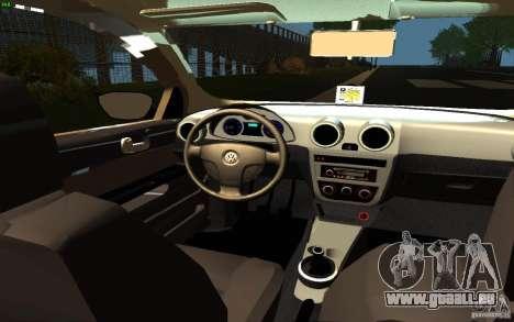 Volkswagen Saveiro pour GTA San Andreas vue de droite