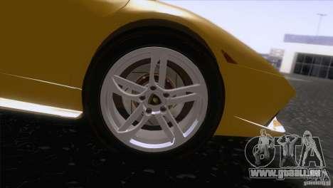 Lamborghini Murcielago LP640 2006 V1.0 pour GTA San Andreas vue arrière