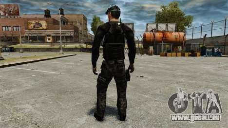 Sam Fisher v2 pour GTA 4 troisième écran