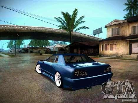 Elegy JDM Tuned pour GTA San Andreas laissé vue