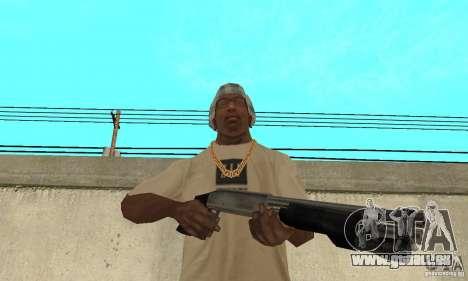 Forces spéciales américaines fusil de chasse pour GTA San Andreas troisième écran