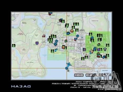 Sentier d'hiver pour GTA San Andreas dixième écran