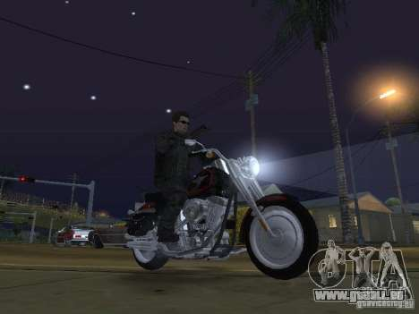 Terminator pour GTA San Andreas cinquième écran