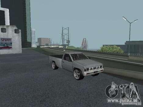 Nissan Pick-up D21 für GTA San Andreas obere Ansicht