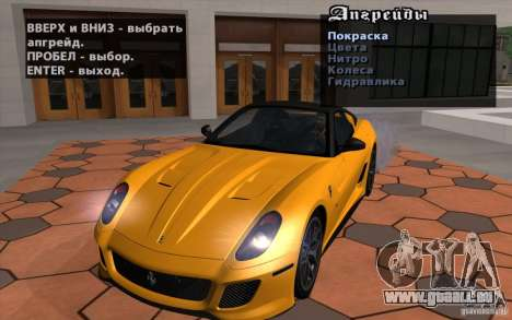 Mobile TransFender für GTA San Andreas