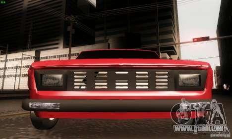 Zastava Skala 55 pour GTA San Andreas vue de droite