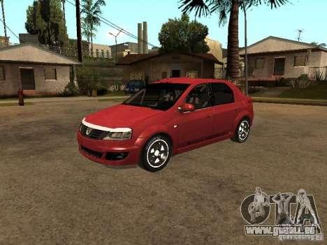Dacia Logan Rally Dirt pour GTA San Andreas