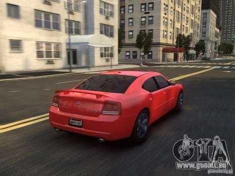 Dodge Charger SRT8 2006 pour GTA 4 vue de dessus