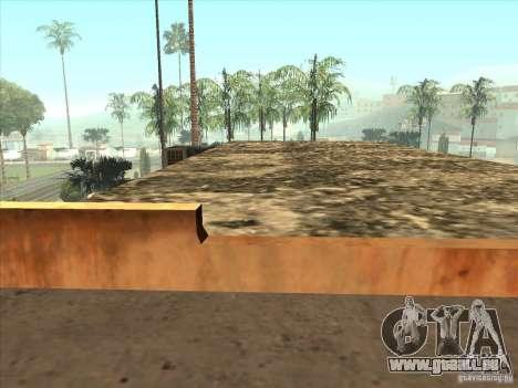 Karte für Parkour und bmx für GTA San Andreas achten Screenshot