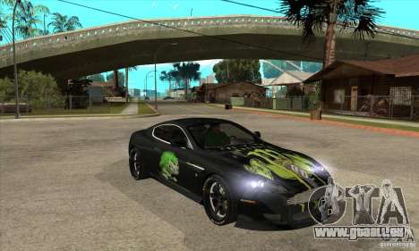 Aston Martin DB9 NFS PS Tuning pour GTA San Andreas vue arrière