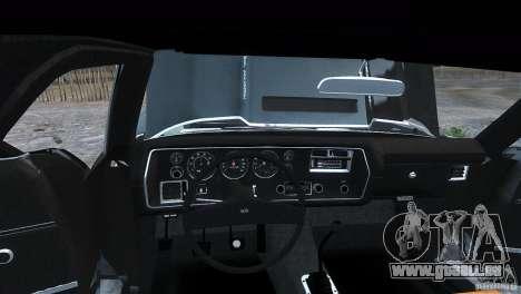 Chevrolet El Camino SS 1970 für GTA 4 hinten links Ansicht