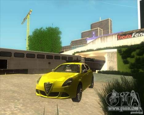 Alfa Romeo Giulietta QV 2011 für GTA San Andreas