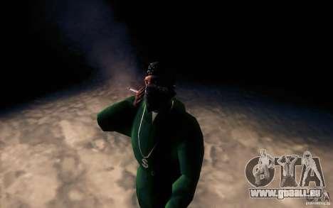 Realistische Zigarette für GTA San Andreas dritten Screenshot