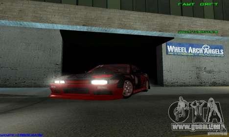 Nissan Silvia S13 Tunable für GTA San Andreas Rückansicht