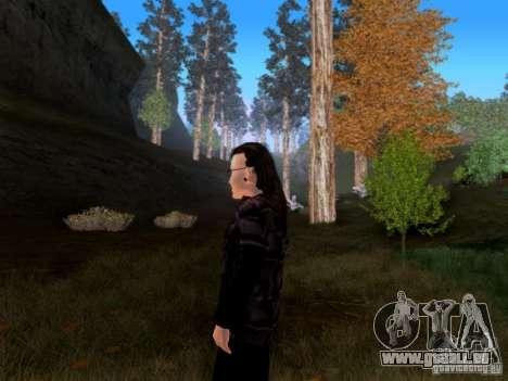 Skrillex pour GTA San Andreas troisième écran