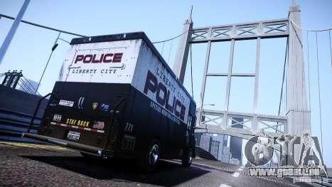 Boxville Police für GTA 4 linke Ansicht