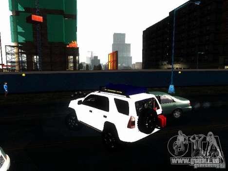 Toyota 4Runner 4X4 pour GTA San Andreas laissé vue