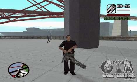 Réincarnation dans un habitant de la ville pour GTA San Andreas troisième écran