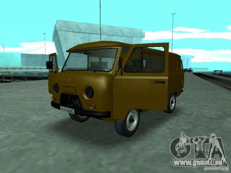 UAZ 3909 für GTA San Andreas Rückansicht