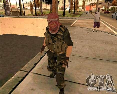 Haut Dušmana von COD4 für GTA San Andreas