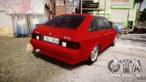AZLK Moskvitch 2141 STR-v 2.1 pour GTA 4 est un côté