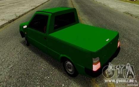 SEAZ Oka Pickup pour GTA San Andreas vue intérieure