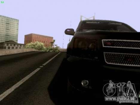 Chevrolet Tahoe 2009 Unmarked pour GTA San Andreas vue de côté