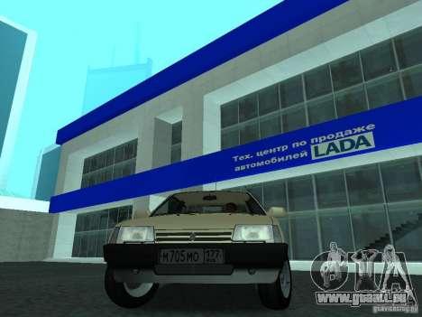 VAZ 2108 CR c. 2 pour GTA San Andreas vue de droite