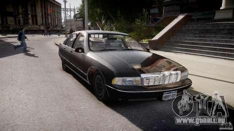 Chevrolet Caprice FBI v.1.0 [ELS] pour GTA 4