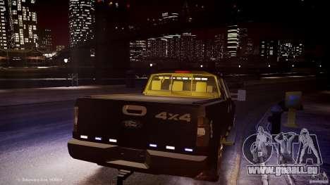 Ford F-350 Unmarked [ELS] pour GTA 4 est un côté