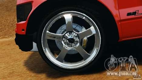 Ford F-150 SVT Raptor pour GTA 4 vue de dessus