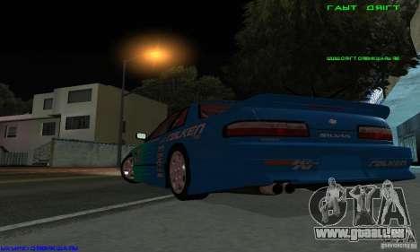 Nissan Silvia S13 Tunable für GTA San Andreas obere Ansicht