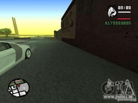 Erste Person (First-Person-mod) für GTA San Andreas dritten Screenshot