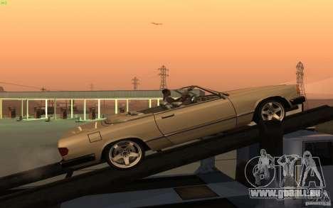 New Feltzer für GTA San Andreas linke Ansicht