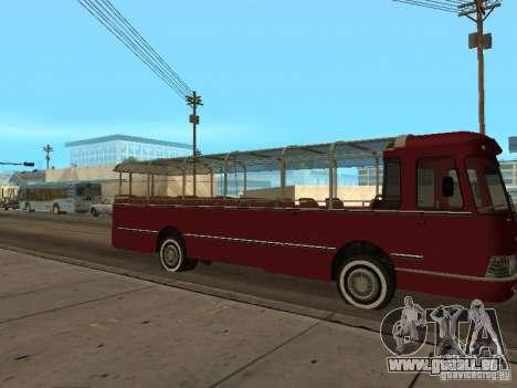 LIAZ 677 Ausflug für GTA San Andreas zurück linke Ansicht