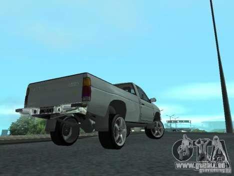Nissan Pick-up D21 für GTA San Andreas Innenansicht