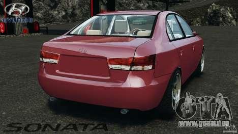Hyundai Sonata v1.0 für GTA 4 hinten links Ansicht