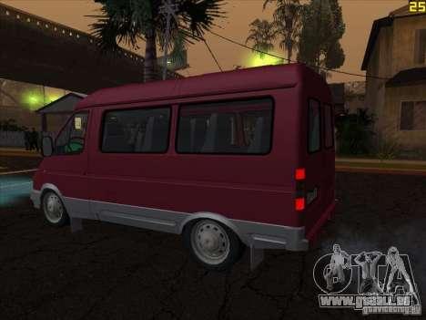 GAZ 22171 Sable für GTA San Andreas linke Ansicht
