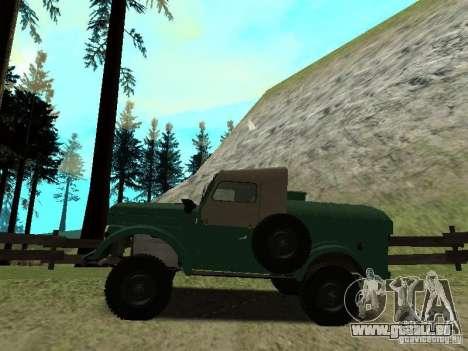 APA GAZ 69 12 pour GTA San Andreas laissé vue