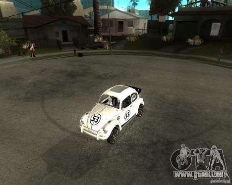 Volkswagen Beetle Herby pour GTA San Andreas