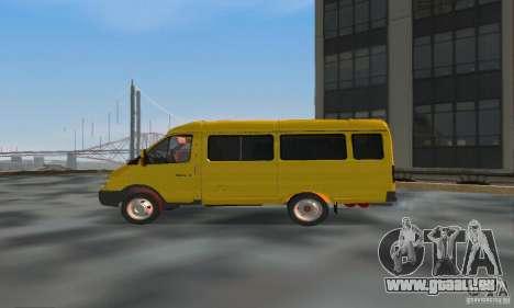 Gazelle 2705 Minibus für GTA San Andreas linke Ansicht
