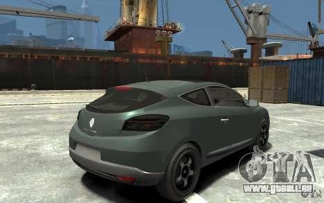 Renault Megane Coupe pour GTA 4 est un droit