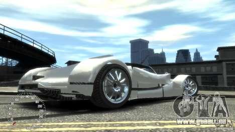Ibis Formula GT pour GTA 4 Vue arrière