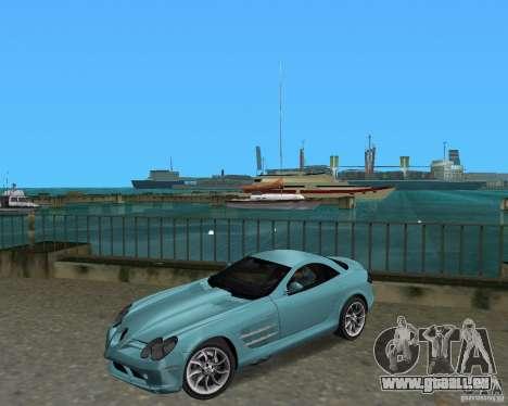 Mercedess Benz SLR Maclaren pour GTA Vice City