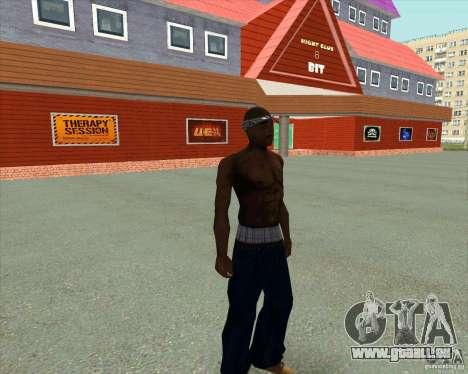 2Pac pour GTA San Andreas quatrième écran