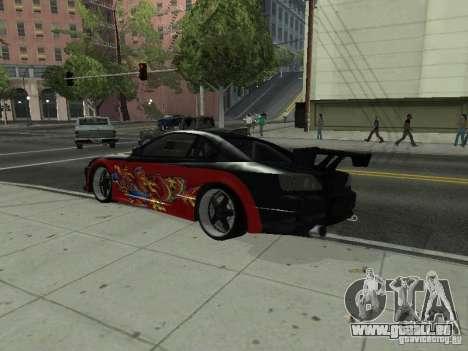 Nissan S15 vDragon pour GTA San Andreas laissé vue