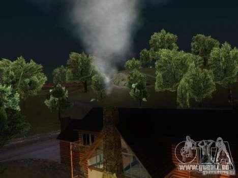 Cheminée dans la maison de Toreno pour GTA San Andreas troisième écran