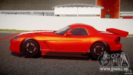 Dodge Viper RT 10 Need for Speed:Shift Tuning für GTA 4 linke Ansicht